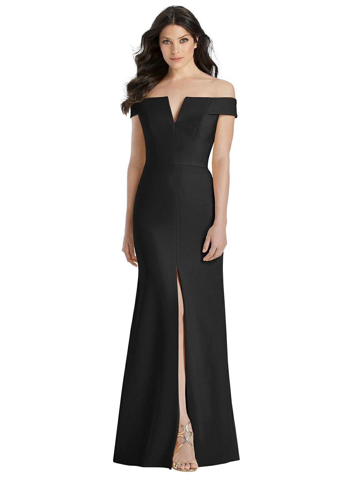 Nicola Black Bridesmaids Dress by Dessy
