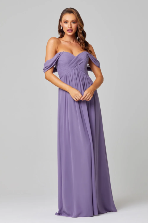 Tania Olsen Bridesmaids dress in lavender