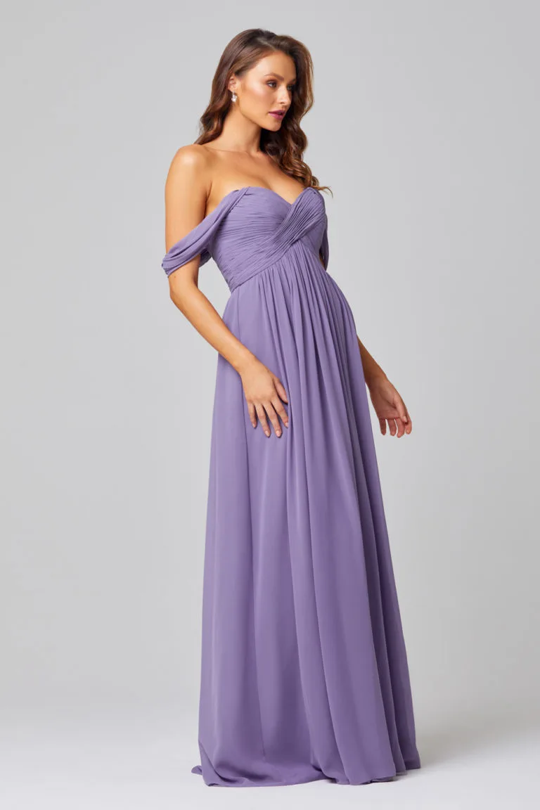 Lucy Bridesmaid Dress by Tania Olsen - Purple Lavender