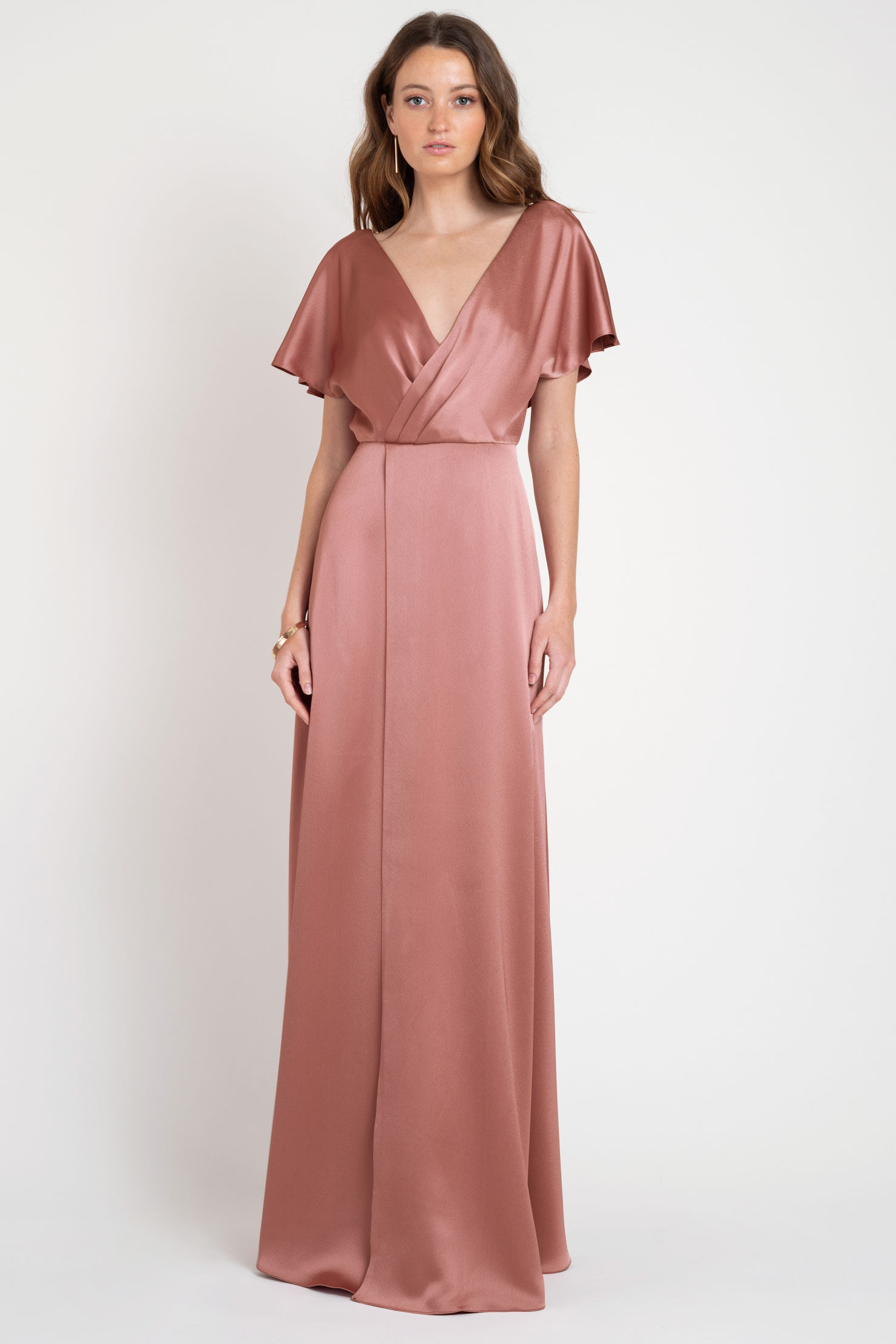Raya Bridesmaids Dress by Jenny Yoo - English Rose