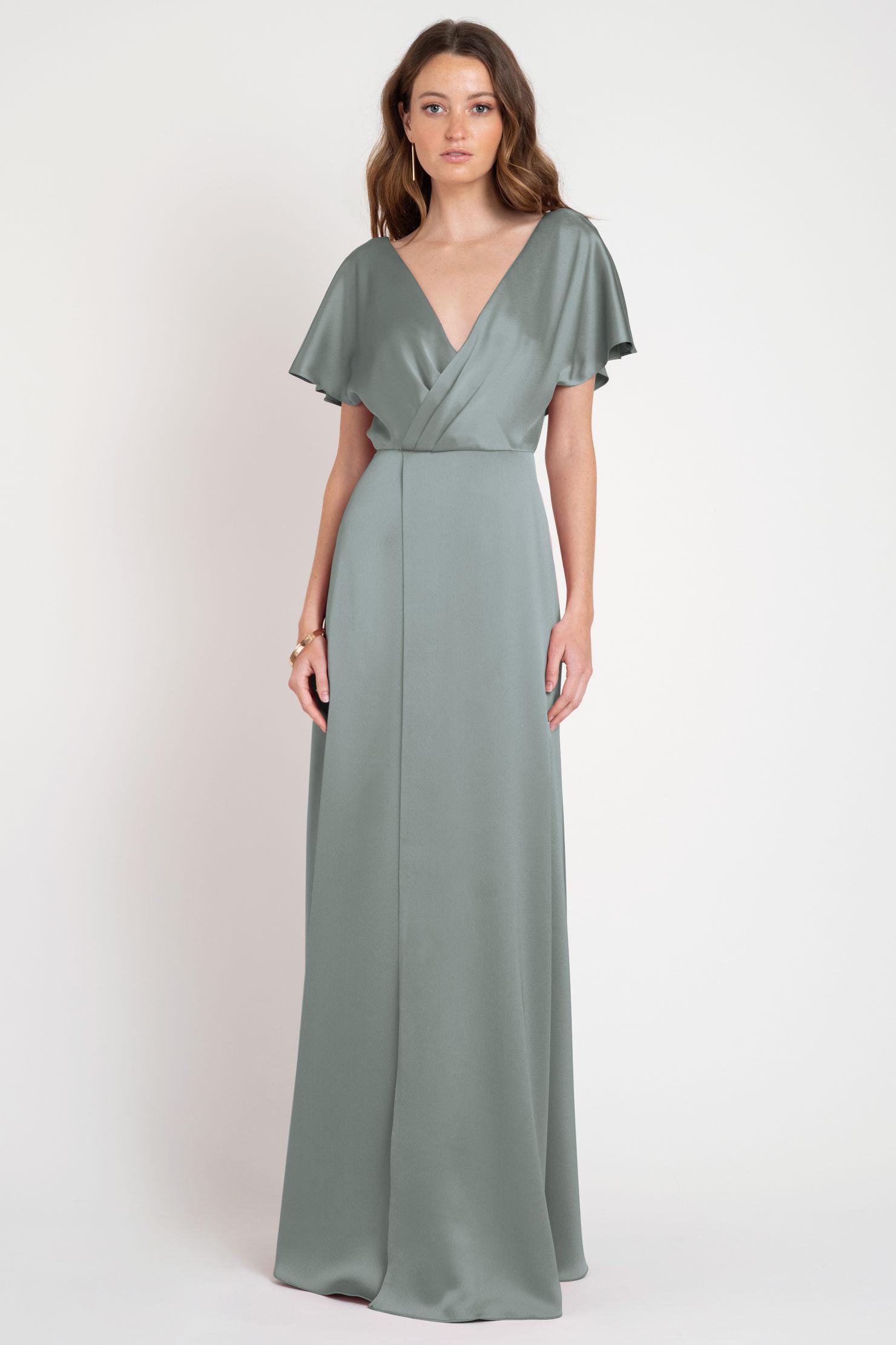 Raya Bridesmaids Dress by Jenny Yoo - Moss Green
