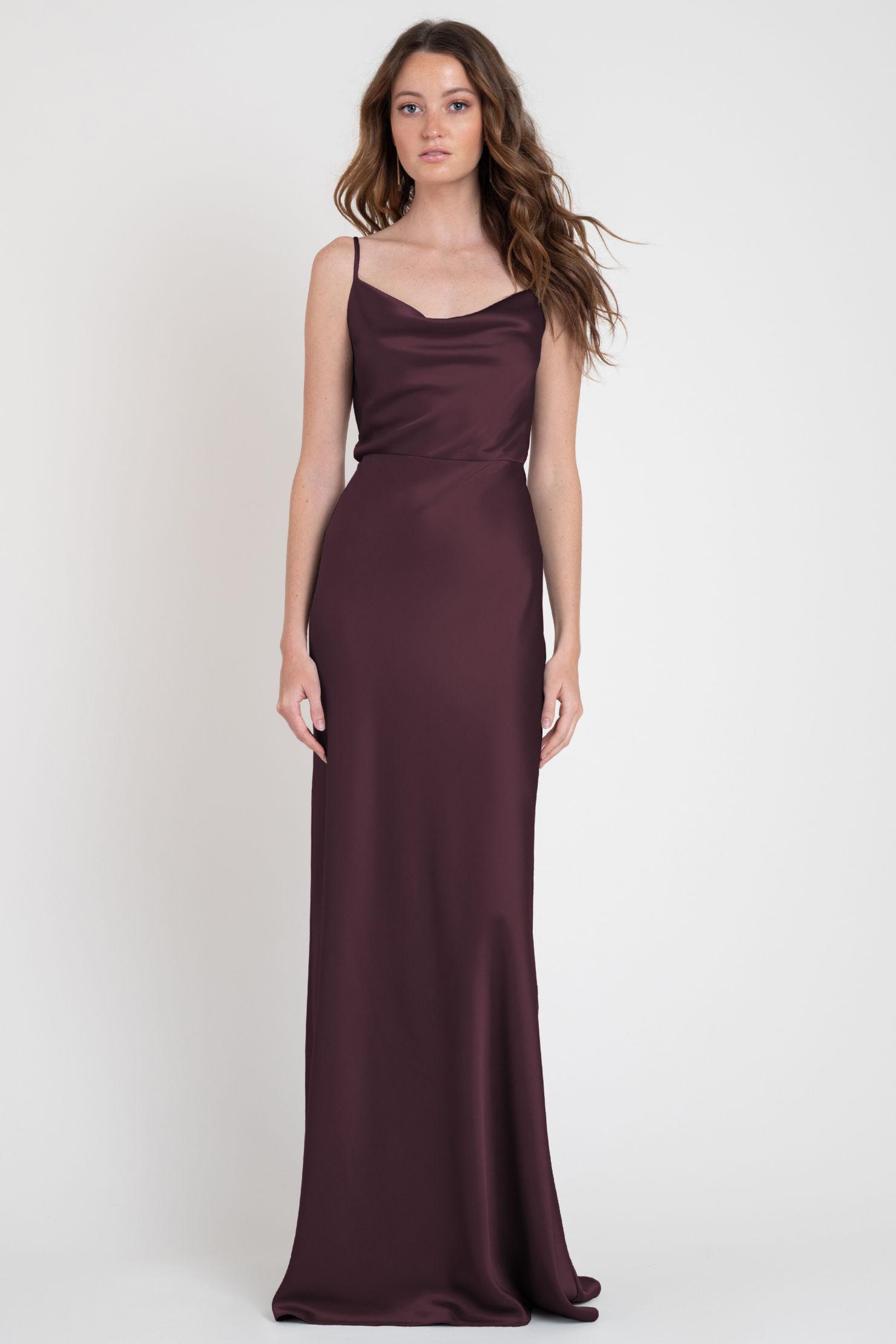 Sylvie Bridesmaids Dress by Jenny Yoo - Mahogany