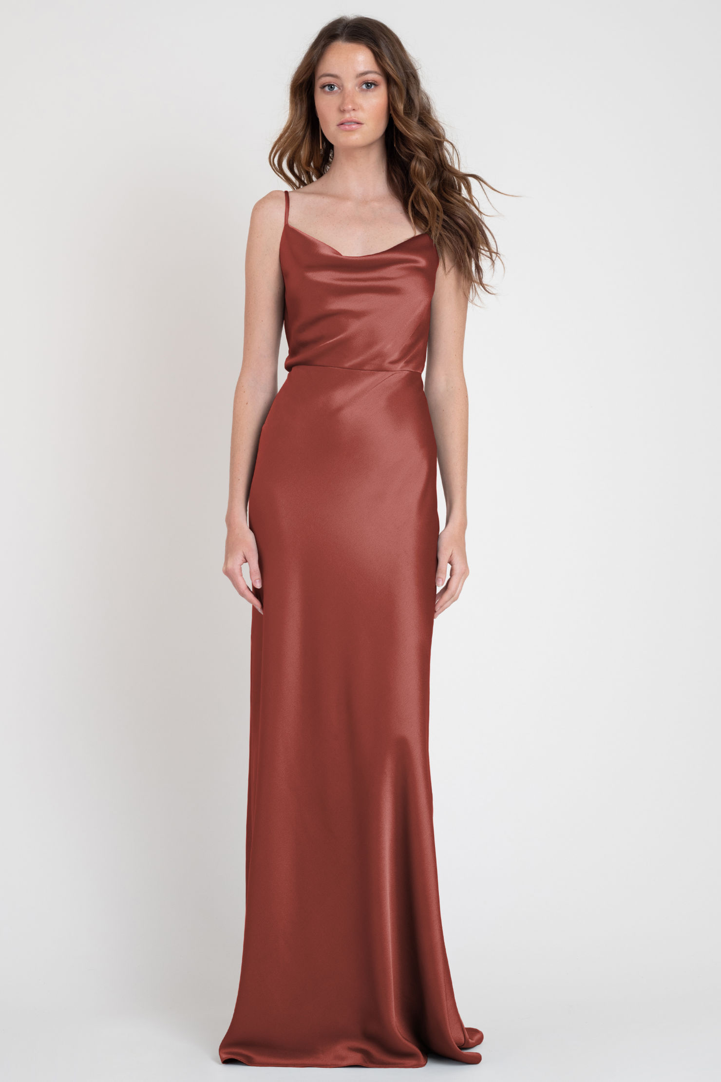Sylvie Bridesmaids Dress by Jenny Yoo - Rust