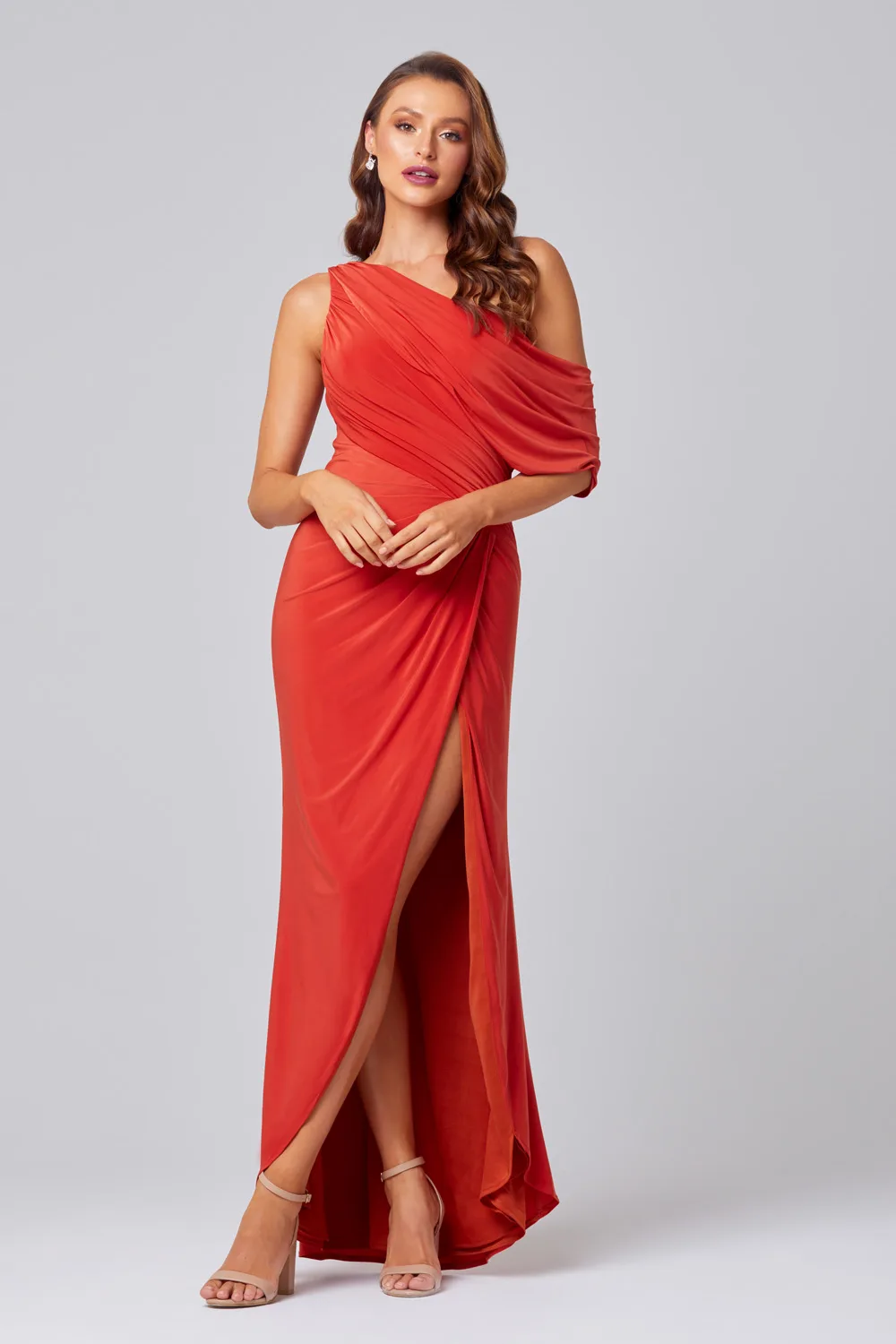 Polly Bridesmaids Dress by Tania Olsen - Burnt Orange