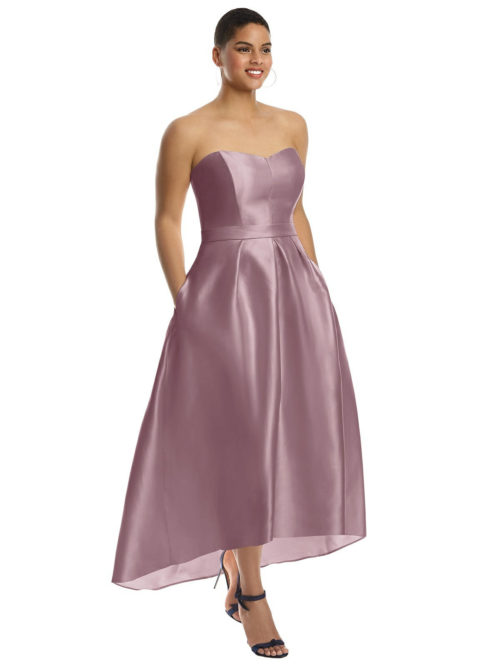 Hatty Dusty Rose Bridesmaids Dress by Dessy