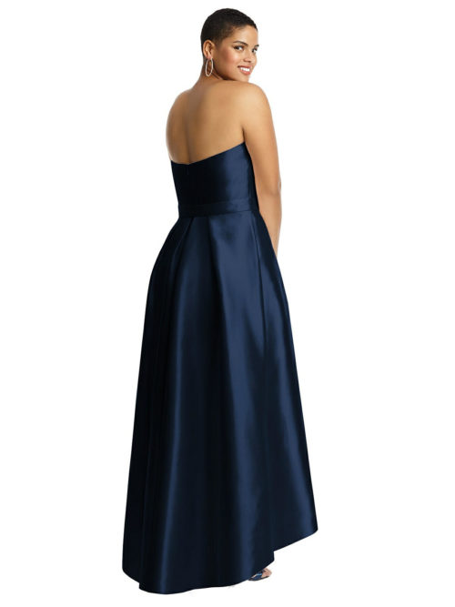 Hatty Midnight Blue Bridesmaids Dress by Dessy