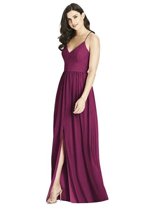 Ashley Ruby Red Bridesmaids Dress by Dessy