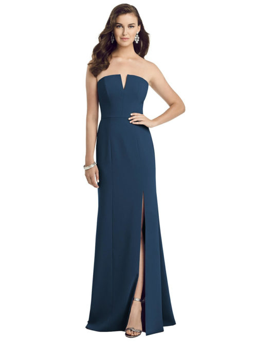 Allie Sofia Blue Bridesmaids Dress by Dessy