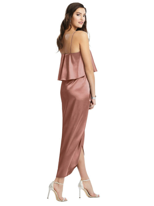 Kenley Satin Bridesmaids Dress from Dessy