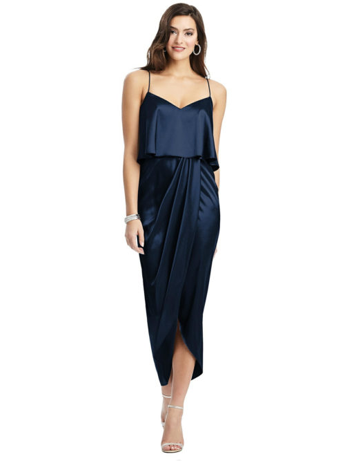 Kenley Midnight Blue Bridesmaids Dress by Dessy