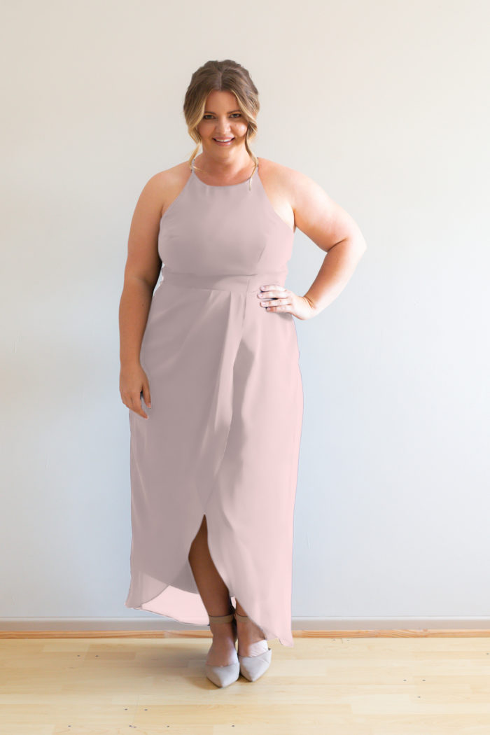 Skye Bridesmaids Dress by Talia Sarah in Ballerina