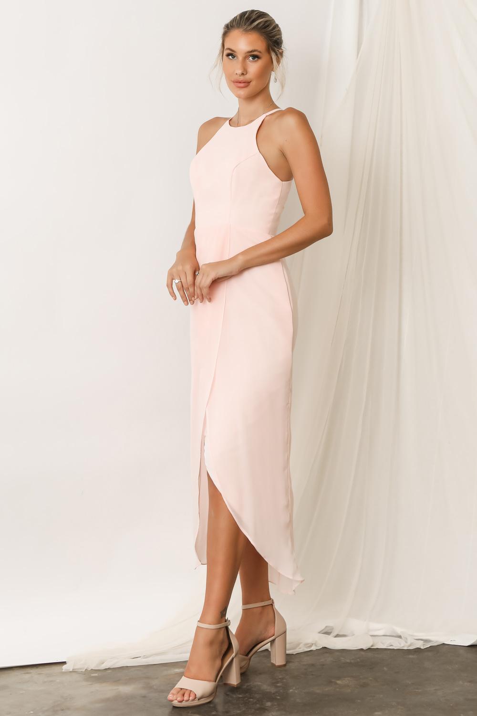 Skye Ballerina Pink Bridesmaid Dresses by Talia Sarah 2