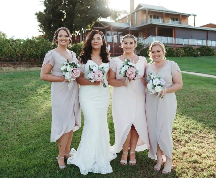 Bridesmaids only review real wedding