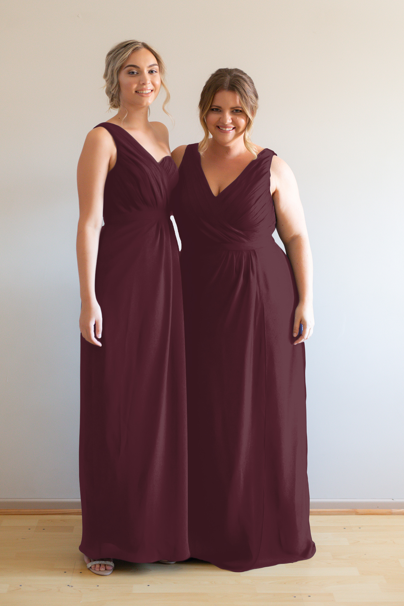 Millie Bridesmaids Dress by Talia Sarah in Mahogany