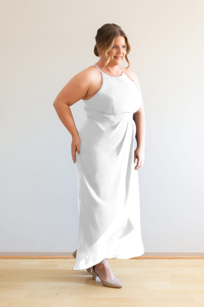 Skye Bridesmaids Dress by Talia Sarah in Ivory