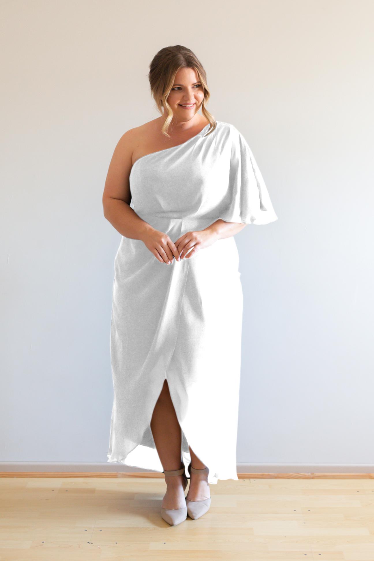 Tessa Bridesmaids Dress by Talia Sarah in White