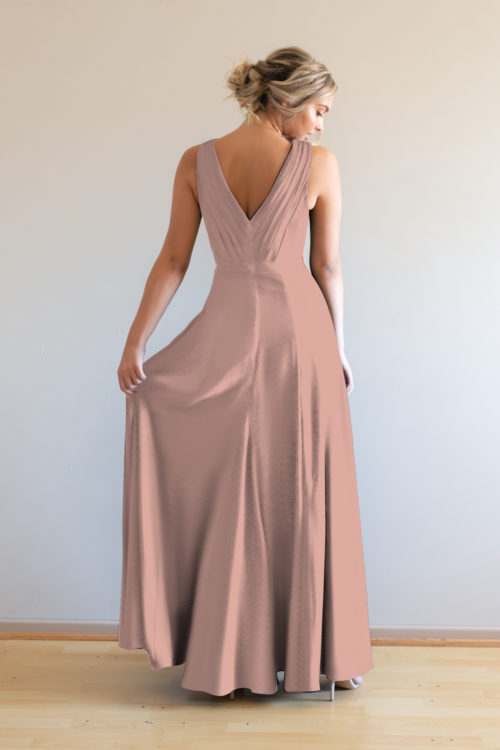 Katja Bridesmaids Dress by Talia Sarah in French Rose