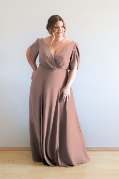 Cara Bridesmaids Dress by Talia Sarah in French Rose