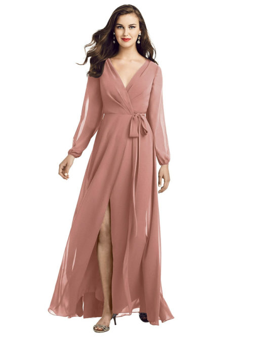 Savon Desert Rose Bridesmaids Dress by Dessy