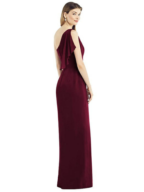 Calista Cabernet Red Bridesmaid Dress by Dessy