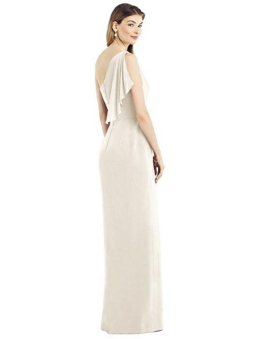Calista Ivory Bridesmaid Dress by Dessy