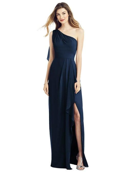 Calista Midnight Blue Bridesmaid Dress by Dessy