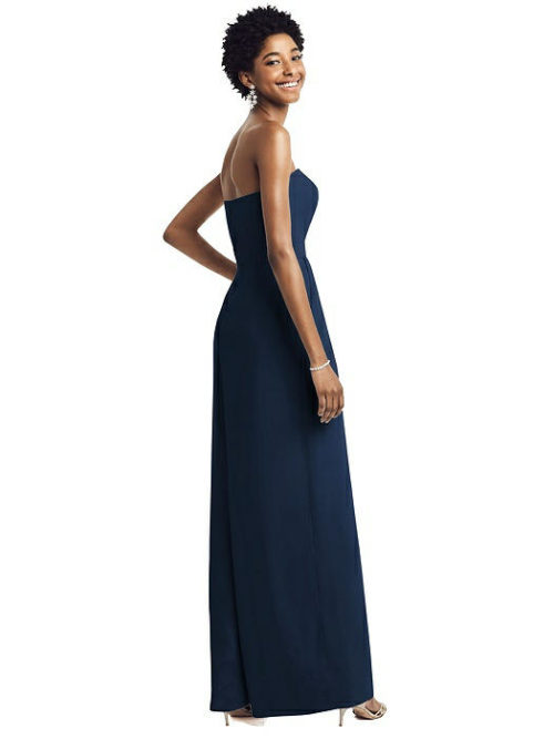 Maya Midnight Blue Bridesmaid Jumpsuit by Dessy