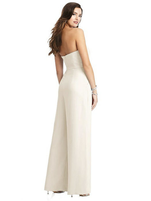 Chantal Ivory Bridesmaid Jumpsuit by Dessy