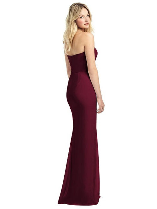 Fern Cabernet Red Bridesmaid Dress by Dessy