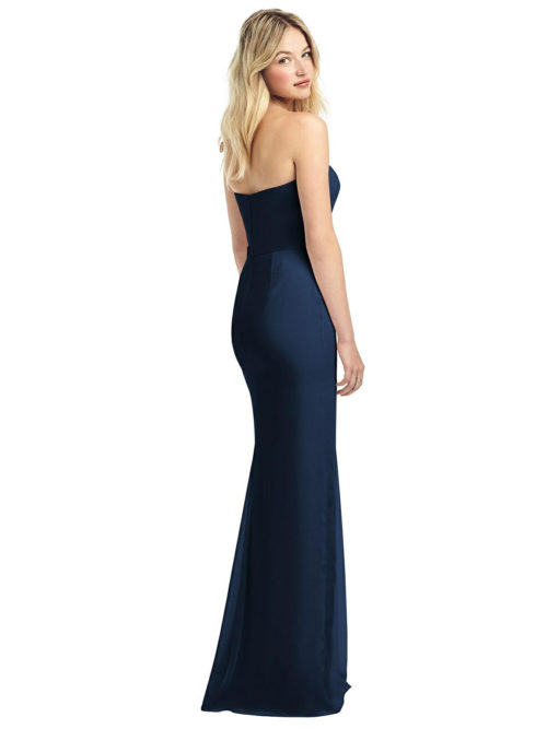 Fern Midnight Blue Bridesmaid Dress by Dessy