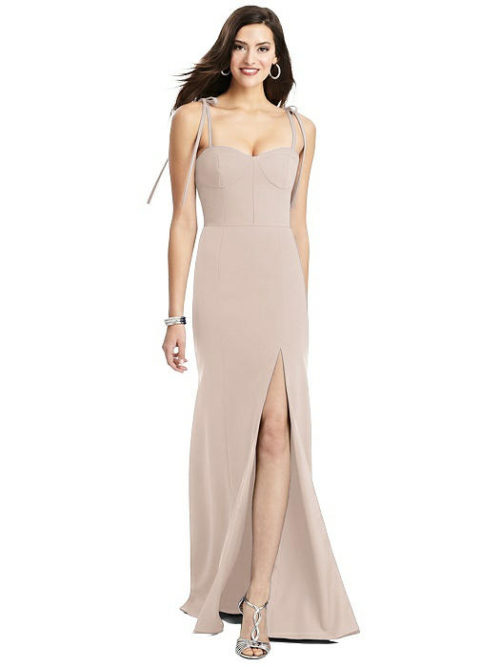 Tati Cameo Pink Bridesmaids Dress by Dessy