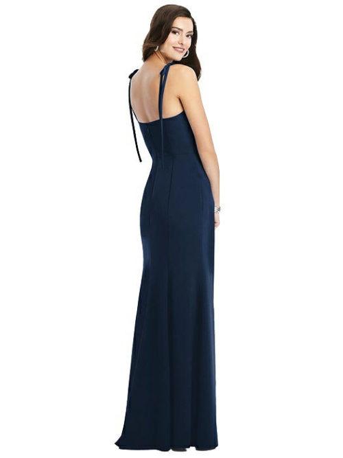 Tati Midnight Blue Bridesmaids Dress by Dessy