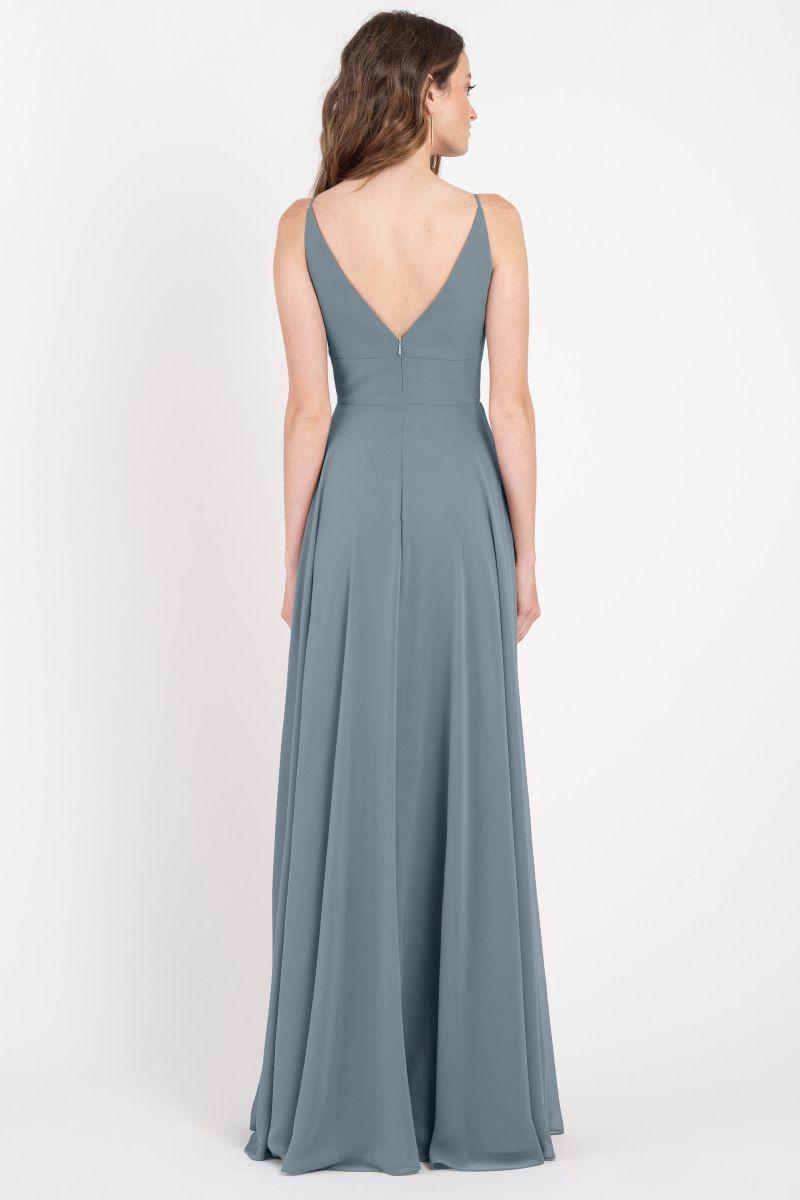 Brady Bridesmaids Dress by Jenny Yoo - Mayan Blue