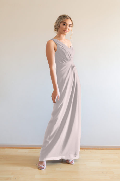 Millie Bridesmaids Dress by Talia Sarah in Cashmere