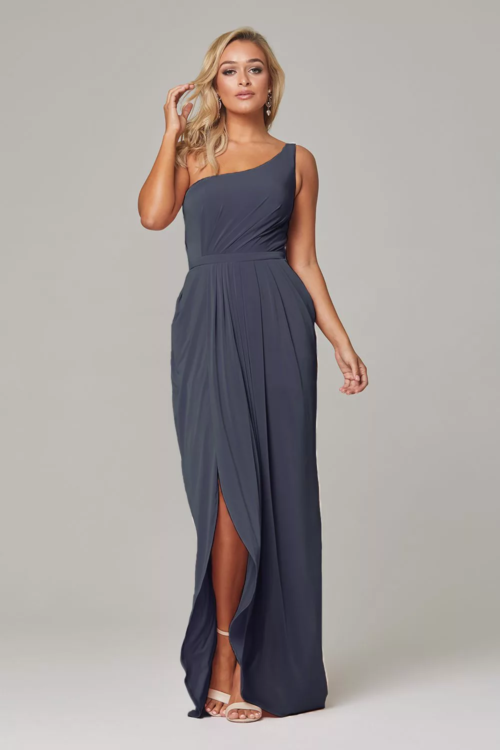 Eloise Bridesmaids Dress by Tania Olsen - Dusty Indigo
