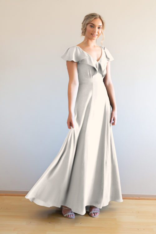 Hayley Bridesmaids Dress by Talia Sarah in Ivory