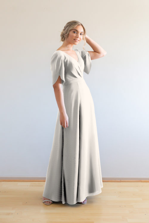 Cara Bridesmaids Dress by Talia Sarah in Ivory