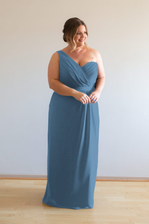 Millie Bridesmaids Dress by Talia Sarah in Dusty Blue