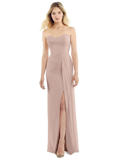 Fern Toasted Sugar Bridesmaid Dress by Dessy