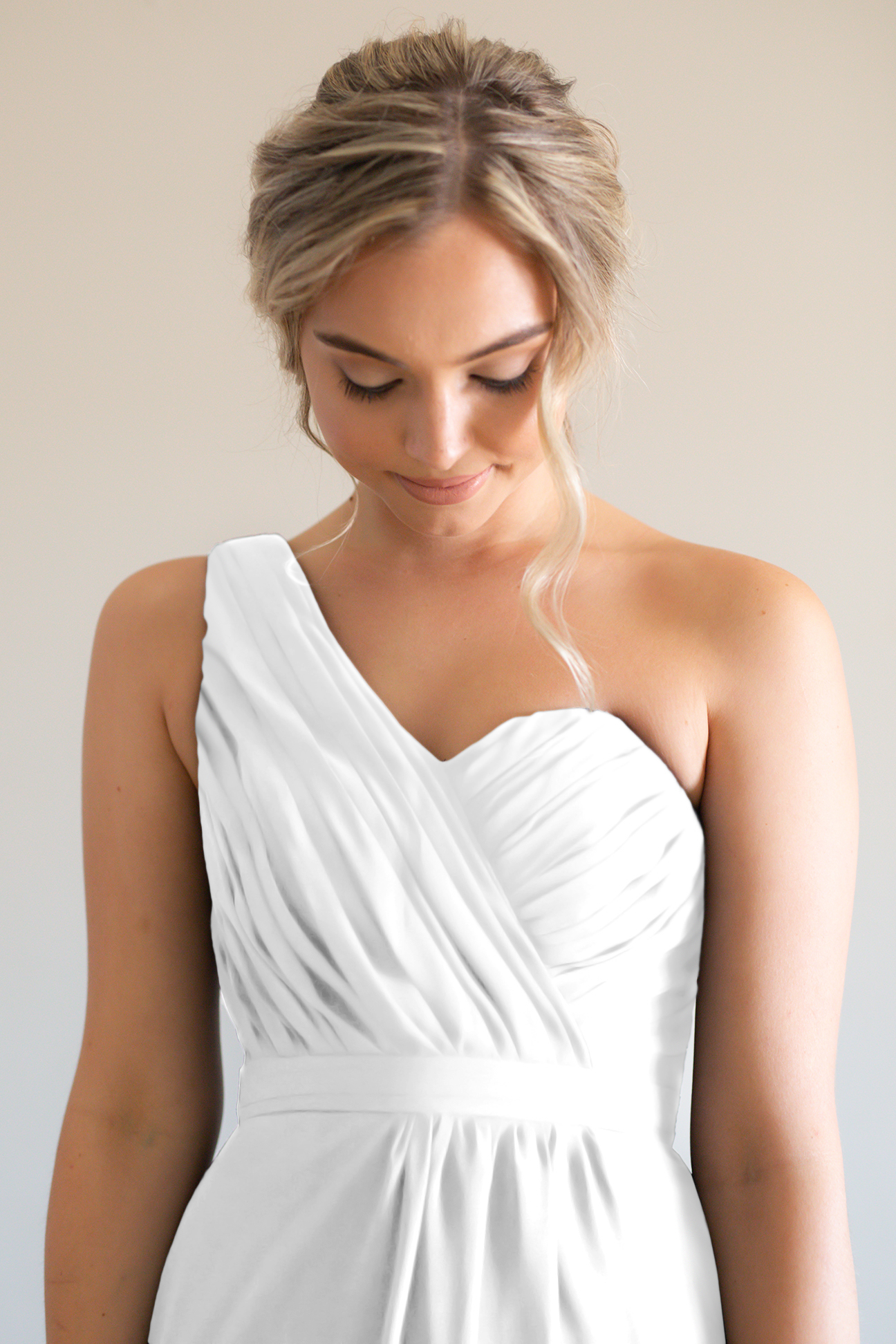 Millie Bridesmaids Dress by Talia Sarah in White