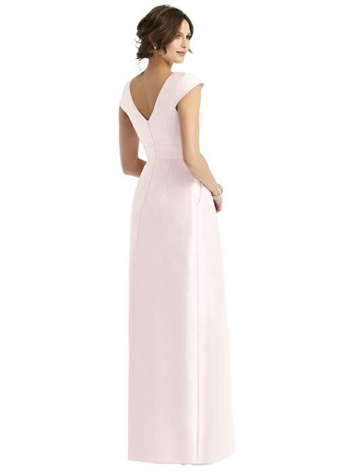 Carla Blush Bridesmaids Dress by Dessy