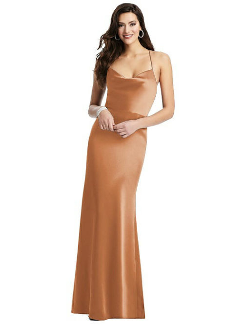 Clara Toffee Bridesmaids Dress by Dessy