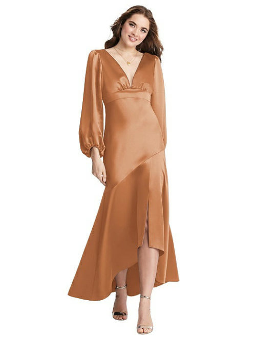 Teagan Toffee Bridesmaids Dress by Dessy