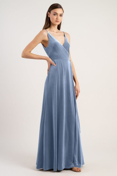 Andi Bridesmaids Dress by Jenny Yoo - Bluestone