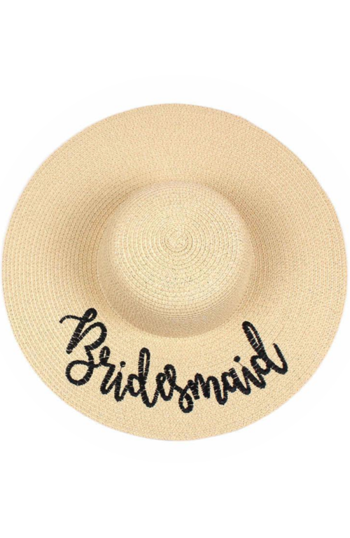 BridesmaidNaturalFloppyHat