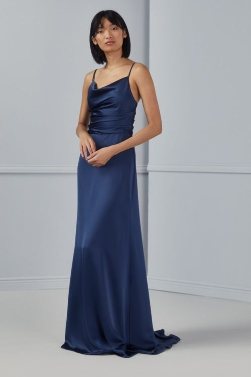 Cody Bridesmaid Dress by Amsale - French Blue