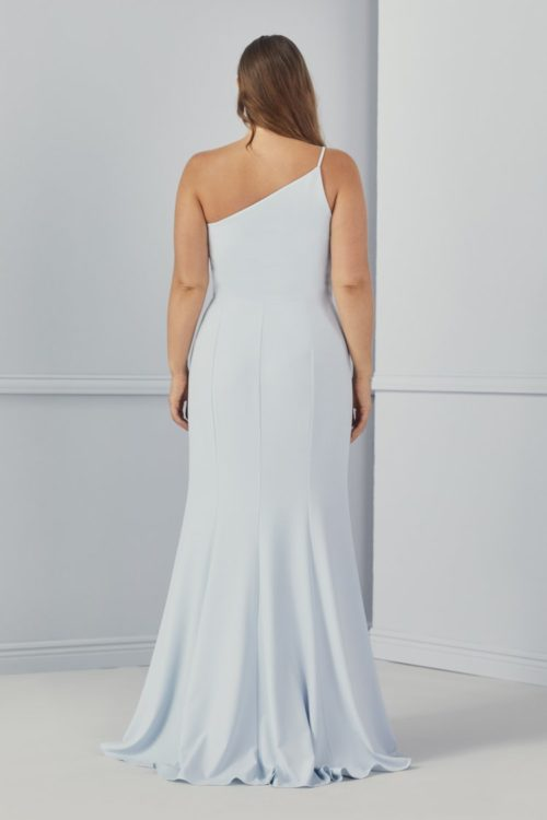 Sloan Bridesmaid Dress by Amsale - Ice Blue