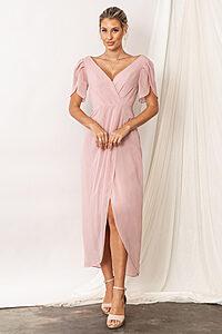 Zara Blush Pink Bridesmaid Dresses by Talia Sarah