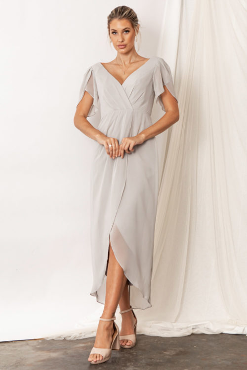 Zara Moonlight Grey Bridesmaid Dresses by Talia Sarah
