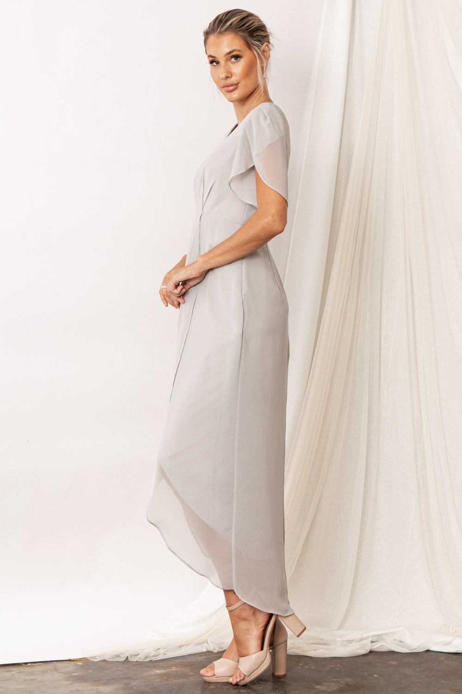 Zara Moonlight Grey Bridesmaid Dresses by Talia Sarah